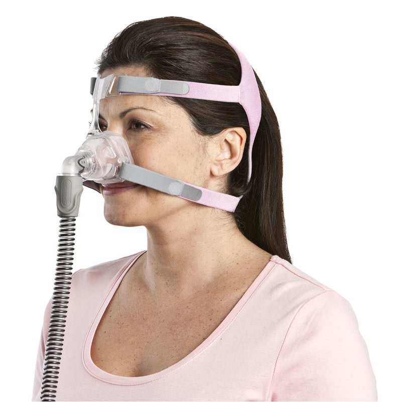 cpap machine with mask