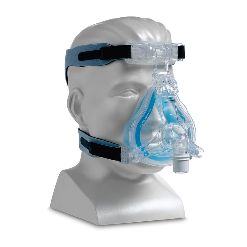 Cpap Com Comfortgel Blue Full Face Cpap Mask With Headgear