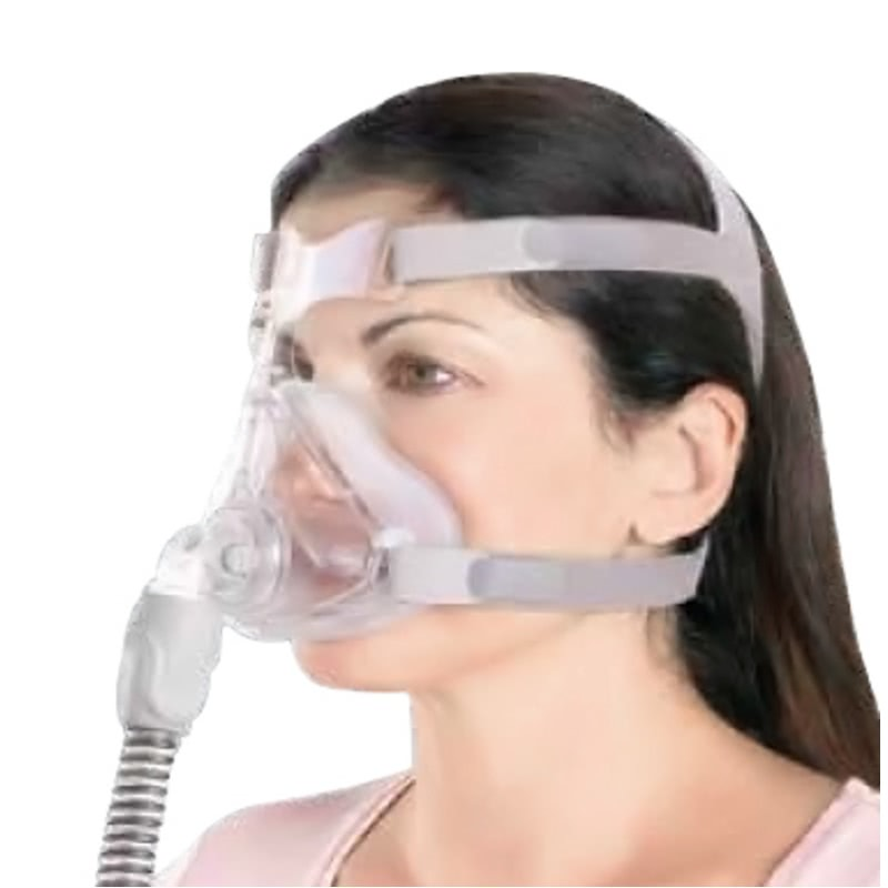 Cpap Com Quattro Air For Her Full Face Mask With Headgear
